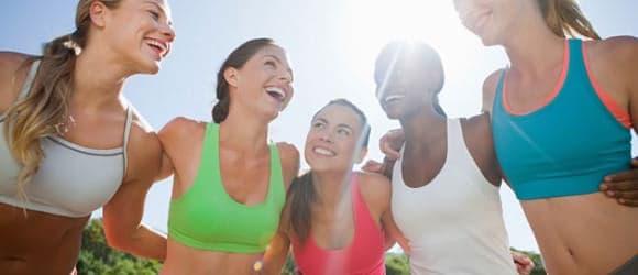 amigos exercicio fisico