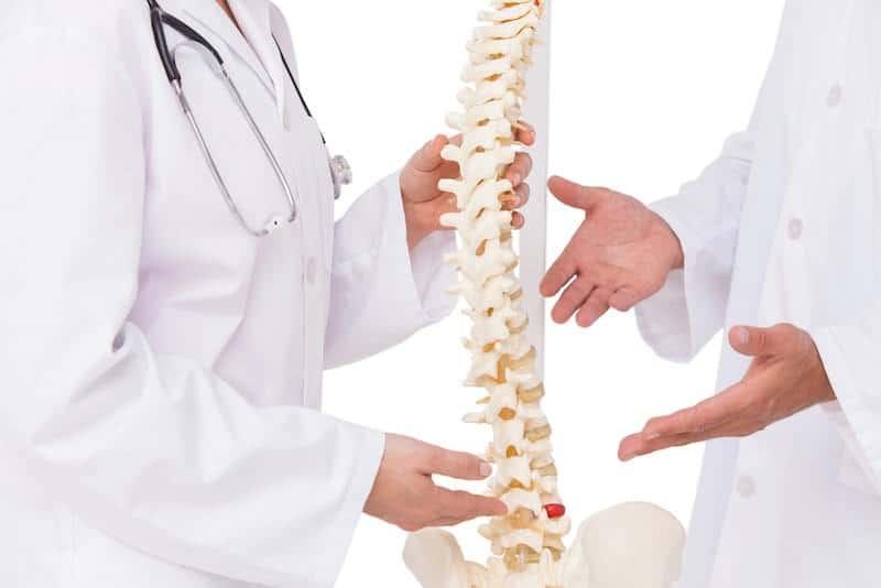coluna vertebral stress