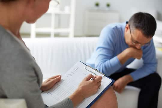 medicina tratamento e terapia de depressao
