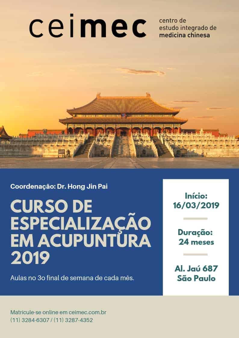CEIMEC-2019 Acupuntura Curso