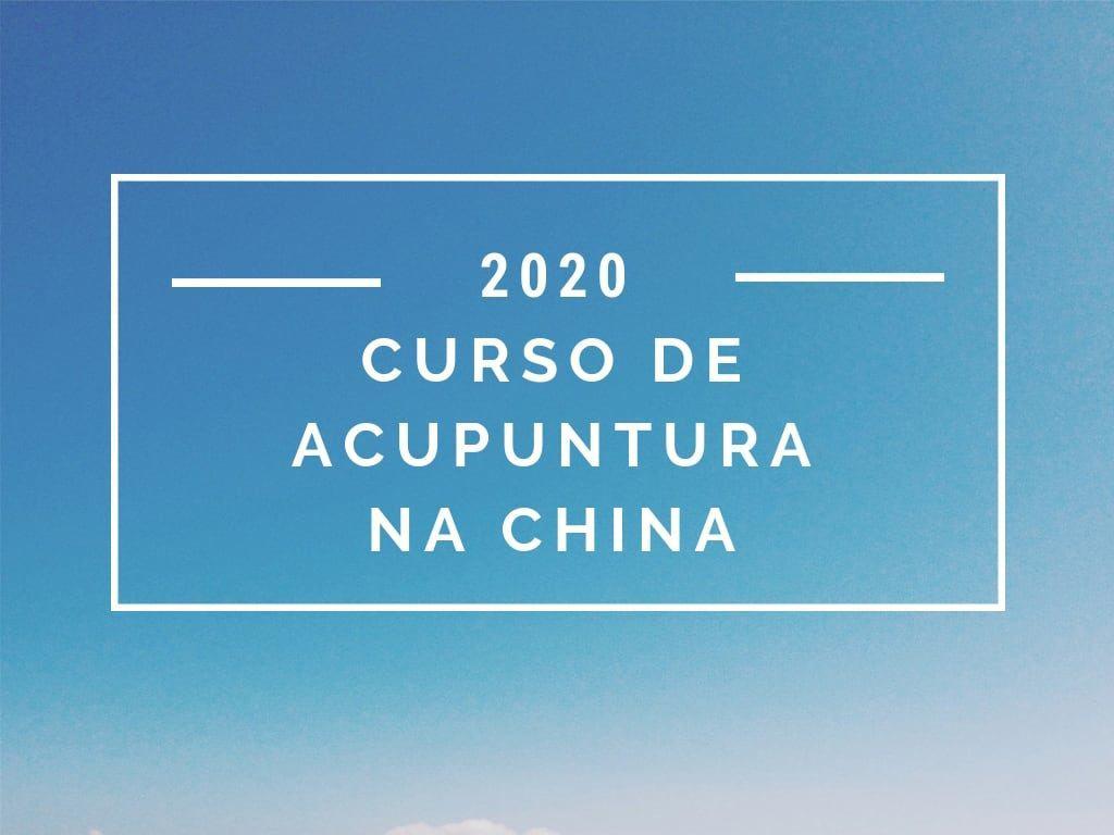 curso acupuntura na china